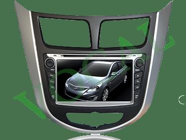 مانیتور فابریک Hyundai Accent & Verna