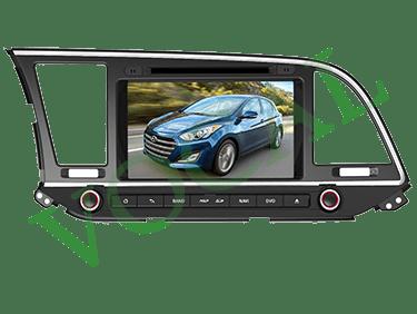 مانیتور فابریک Hyundai Elantra
