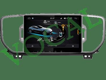 مانیتور فابریک Kia Sportage 2018 Full Touch