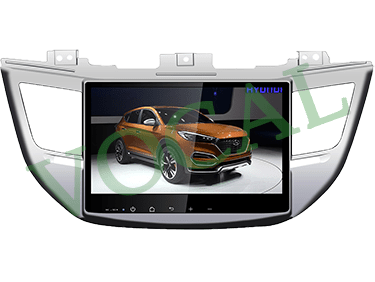 مانیتور فابریک Hyundai Tucson 2017 Full Touch